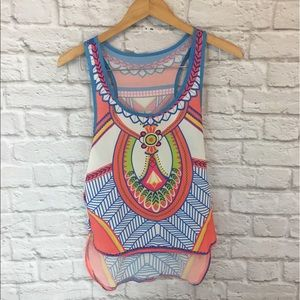 Tops - Tribal Print Tank
